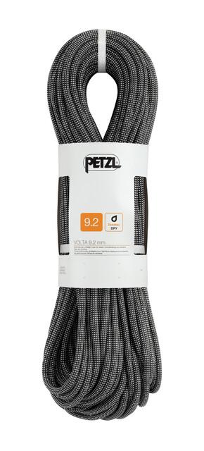 Kletterausrüstung Petzl : Petzl volta seil mm m grau campz